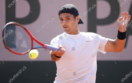 Editorial image of French Open tennis tournament at Roland Garros, Paris, France - 30 May 2021