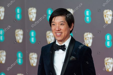 Dan Lin attends the EE British Academy Film Awards ceremony at the Royal Albert Hall on 02 February, 2020 in London, England.