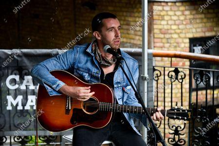 Editorial image of Miles Kane Performs, London, UK - 25 Jul 2020