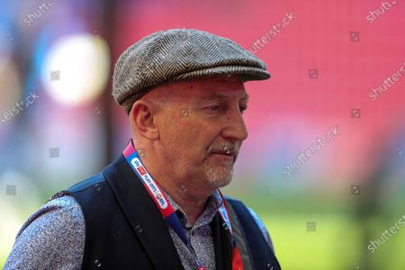 Ian Holloway during the EFL Sky Bet League 1 Play-Off Final match between Blackpool and Lincoln City at Wembley Stadium, London