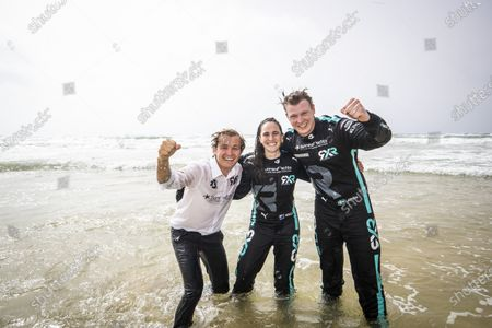 Nico Rosberg, founder and CEO, Rosberg X Racing and Molly Taylor (AUS)/Johan Kristoffersson (SWE),  during the 2021 Extreme E Ocean X Prix