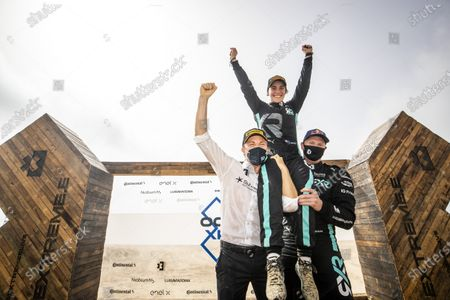 Nico Rosberg, founder and CEO, Rosberg X Racing with Molly Taylor (AUS)/Johan Kristoffersson (SWE), during the 2021 Extreme E Ocean X Prix