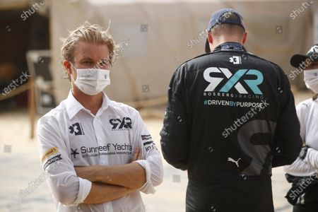 Nico Rosberg, founder and CEO, Rosberg X Racing, and Johan Kristoffersson (SWE), Rosberg X Racing during the 2021 Extreme E Ocean X Prix