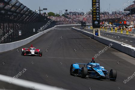INDIANAPOLIS MOTOR SPEEDWAY, UNITED STATES OF AMERICA - MAY 30: #59: Max Chilton, Carlin Chevrolet at Indianapolis Motor Speedway on Sunday May 30, 2021 in Indianapolis, United States of America. (Photo by Jake Galstad / LAT Images)