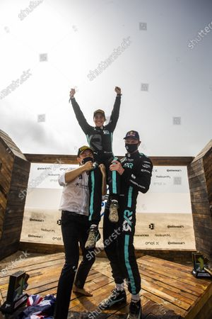 Stock Photo of Nico Rosberg, founder and CEO, Rosberg X Racing with Molly Taylor (AUS)/Johan Kristoffersson (SWE),  during the 2021 Extreme E Ocean X Prix