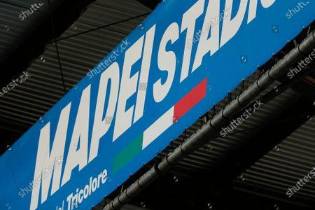 Mapei Stadium banner
