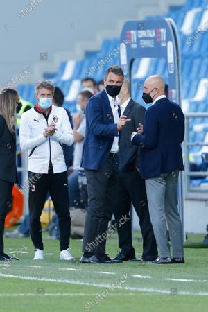 Stock Photo of Paolo Maldini and Ivan Gazidis (AC Milan)