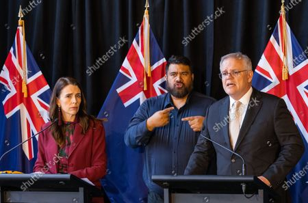 Editorial picture of Australian Prime Minister Scott Morrison is on a two-day visit to New Zealand, Queenstown - 31 May 2021