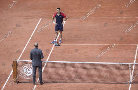 Editorial picture of Tennis Internationals Roland-Garros 2021, Grand Slam tennis tournament, Paris, France - 30 May 2021