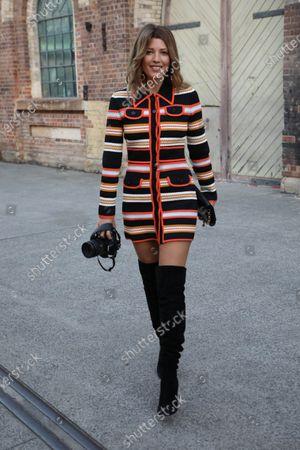 Editorial photo of Afterpay Australian Fashion Week Street style, Sydney, Australia - 31 May 2021