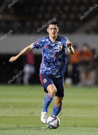 Naomichi Ueda (JPN) - Football / Soccer : FIFA World Cup Qatar 2022 Asian Qualifier Second Round Group F match between Japan 10-0 Myanmar at Fukuda Denshi Arena, Chiba, Japan.