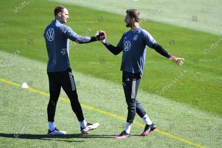 Manuel Neuer (Germany), left - Kevin Trapp (Germany), right