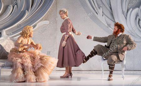 Editorial image of Der Rosenkavalier. Opera performed by Garsington Opera at Wormsley, UK - 31 May 2021