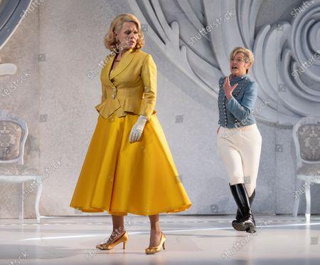 Editorial photo of Der Rosenkavalier. Opera performed by Garsington Opera at Wormsley, UK - 31 May 2021