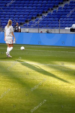 Editorial picture of French league women's match, Olympique Lyonnais (OL) v Paris Saint Germain (PSG), Lyons, France - 30 May 2021