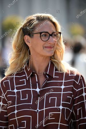 Stock Image of Mary Pierce during Roland Garros 2021.
