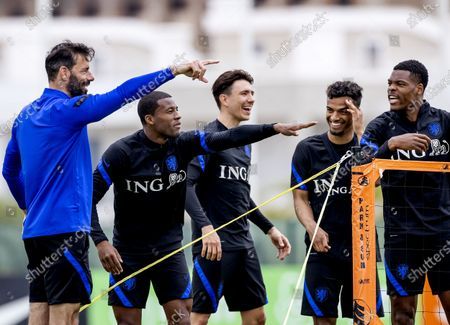 Editorial image of The Netherlands national team training, Cascade Resort, Lagos, Portugal - 31 May 2021