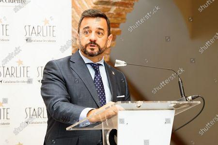 Vice-counselor of Turismo at Junta de Andalucia government, Manuel Alejandro Cardenete, seen during the Presentation of Starlite Catalana Occidente Festival 2021 in Marbella.