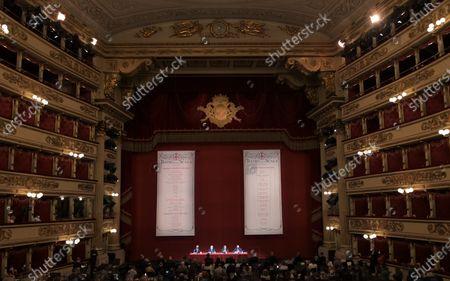 Editorial picture of La Scala Teatro new season presentation, Milan, Italy - 31 May 2021