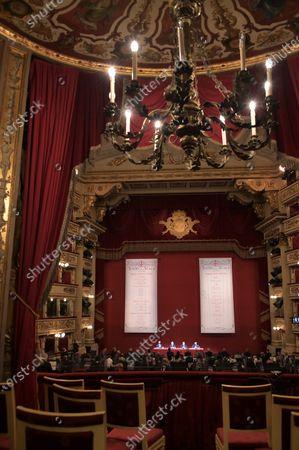 Editorial photo of La Scala Teatro new season presentation, Milan, Italy - 31 May 2021