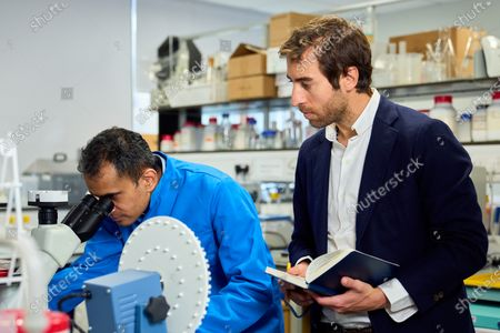 Professor M Gulrez Zariwala, Director at the Centre for Nutraceuticals at the University of Westminster andMathieu Flamini, Unity co-founder