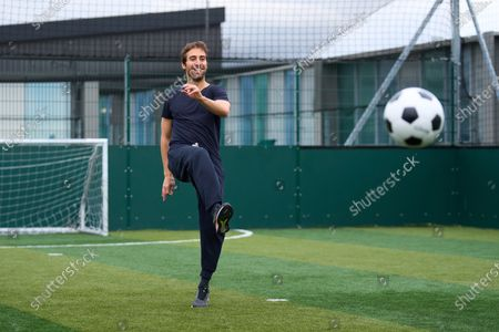 Editorial photo of Mathieu Flamini launches U Ultra health supplements in collaboration with University of Westminster, London, UK - 08 Apr 2021