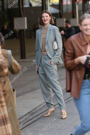 Editorial photo of Afterpay Australian Fashion Week Street Style, Sydney, Australia - 01 Jun 2021