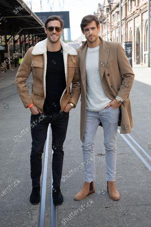Stock Image of Zac Stenmark and Jordan Stenmark, Stenmark twins
