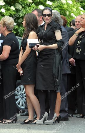 Editorial photo of Funeral of Stuart Cable, St Elvan's Church, Aberdare, Wales - 21 Jun 2010
