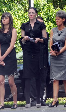 Editorial image of Funeral of Stuart Cable, St Elvan's Church, Aberdare, Wales - 21 Jun 2010