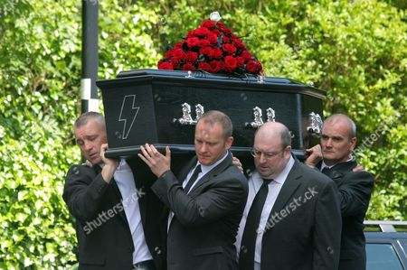 Editorial picture of Funeral of Stuart Cable, St Elvan's Church, Aberdare, Wales - 21 Jun 2010