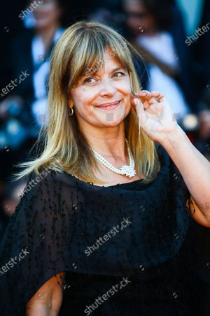 Nastassja Kinski walks the red carpet ahead of the opening ceremony and the 'First Man' screening during the 75th Venice Film Festival, in Venice, Italy, on August 29, 2018.