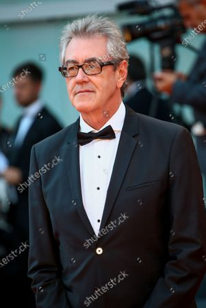 Piers Handling walks the red carpet ahead of the closing ceremony of the 76th Venice Film Festival at Sala Grande on September 07, 2019 in Venice, Italy.