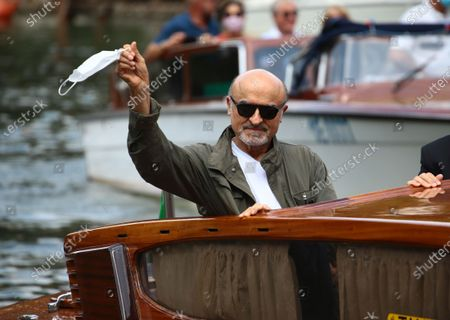 Ivano Marescotti  is seen arriving at the Excelsior during the 77th Venice Film Festival on September 07, 2020 in Venice, Italy.