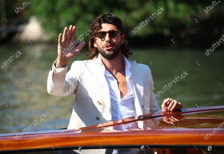 Stock Photo of Ignazio Moser is seen arriving at the Excelsior during the 77th Venice Film Festival on September 07, 2020 in Venice, Italy.