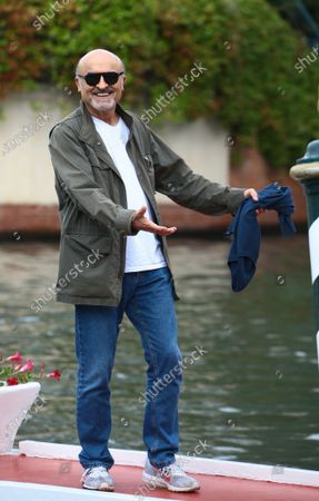Stock Photo of Ivano Marescotti  is seen arriving at the Excelsior during the 77th Venice Film Festival on September 07, 2020 in Venice, Italy.
