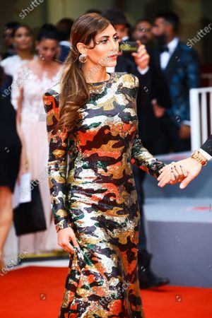 Mila Suarez walks the red carpet ahead of the 'One Nation One King (Un Peuple Et Son Roi)' screening during the 75th Venice Film Festival on September 7, 2018 in Venice, Italy.