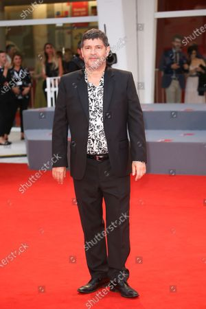 Pierre Schoeller  walks the red carpet ahead of the 'One Nation One King (Un Peuple Et Son Roi)' screening during the 75th Venice Film Festival on September 7, 2018 in Venice, Italy.