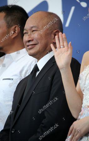 Stock Photo of Venice, Italy. 08 September, 2017. John Woo attends the 'Zhuibu (Manhunt)' photocall during the 74th Venice Film Festival