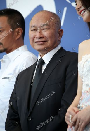 Stock Picture of Venice, Italy. 08 September, 2017. John Woo attends the 'Zhuibu (Manhunt)' photocall during the 74th Venice Film Festival