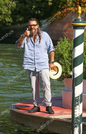 Mirko Frezza is seen arriving at the 76th Venice Film Festival on September 05, 2019 in Venice, Italy