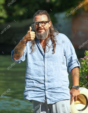 Stock Picture of Mirko Frezza is seen arriving at the 76th Venice Film Festival on September 05, 2019 in Venice, Italy