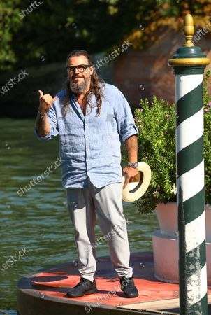 Stock Image of Mirko Frezza is seen arriving at the 76th Venice Film Festival on September 05, 2019 in Venice, Italy