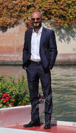Nicolas Vaporidis is seen arriving at the Excelsior during the 77th Venice Film Festival on September 09, 2020 in Venice, Italy.