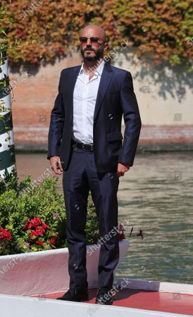 Editorial photo of Celebrity Excelsior Arrivals During The 77th Venice Film Festival - Day 8, Italy - 09 Sep 2020