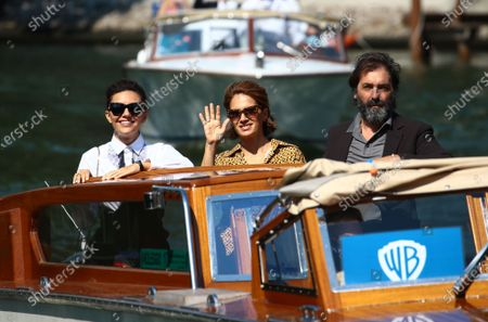Editorial photo of Celebrity Excelsior Arrivals During The 77th Venice Film Festival - Day 11, Italy - 12 Sep 2020