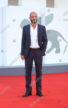 Stock Picture of Nicolas Vaporidis walks the red carpet ahead of the movie ''Le Sorelle Macaluso'' at the 77th Venice Film Festival on September 09, 2020 in Venice, Italy.