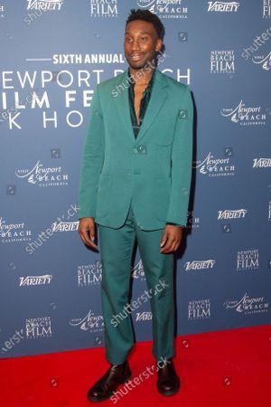 Nathan Stewart-Jarrett attends the Newport Beach Film Festival UK Honours 2020 at The Langham Hotel on January 29, 2020 in London, England.