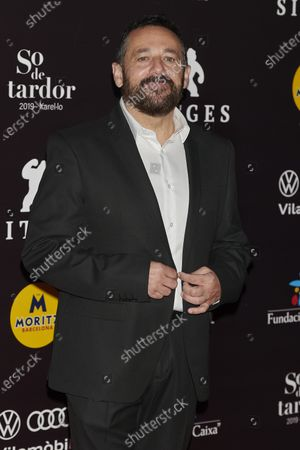 Pepon Nieto attends the '30 Monedas' Sitges film festival Red Carpet at Gran Melia Hotel in Sitges, Spain, on October 11, 2020.
