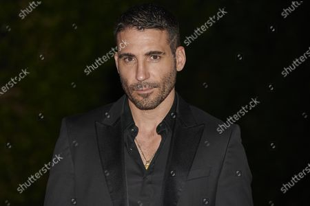 Stock Photo of Miguel angel Silvestre attends the '30 Monedas' Sitges film festival Red Carpet at Gran Melia Hotel in Sitges, Spain, on October 11, 2020.